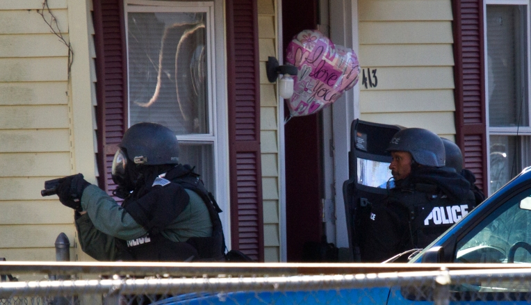A domestic incident resulting in Hampton SWAT entering the residence at 413 SWalnut Street in Hampton early Monday.