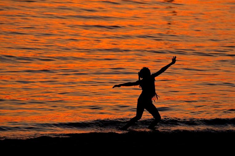Dance at dusk