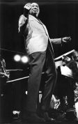 Duke Ellington performs at the Hampton Jazz Festival in 1969.