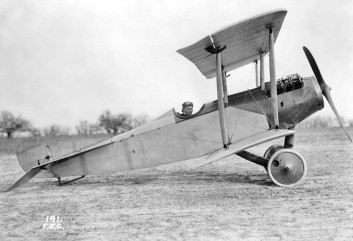 Victor Carlstrom was ranked as one of the nation's foremost test pilots and set numerous world speed, altitude and endurance records at the Curtiss Flying School before crashing to his death in May 1917. (Courtesy of Kurt P. Wheaton)