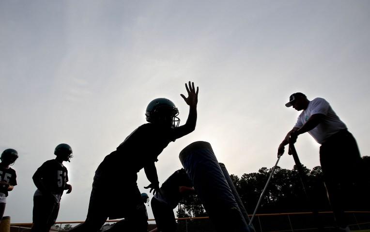 Woodside Football Practice