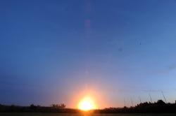Orbital's Antares rocket exploded shortly after takeoff at Wallops Flight Facility on Tuesday, Oct. 28, 2014. Jay Diem/Eastern Shore News