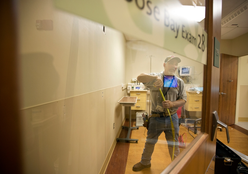 Riverside prepares for Ebola