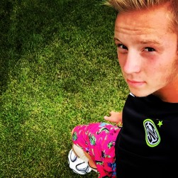 Jamestown's Jeff Wolons is the Daily Press all-star soccer player for the 2015 season. Wolon's picture was processed thorough Instagram using the Lo-Fi filter.