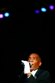 Soul vocal group The Unifics perform on the third day of the 2015 Hampton Jazz Festival at the Hampton Coliseum in Hampton, Va., on Sunday, June 28, 2015. The Unifics were co-founded by Newport News natives Tom Fauntleroy and Al Johnson.