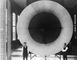 Though based on a 10-year-old English design, Langley Memorial Aeronautical Laboratory's Wind Tunnel No. 1 gave engineers the experience they needed to go on to numerous pioneering breakthroughs after it began operating on June 11, 1920. Credit: Courtesy of NASA Langley Research Center