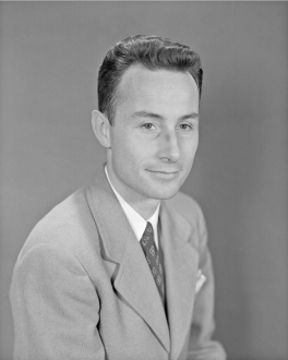 John V. Becker (b. 1913) contributed critical concepts and leadership in high-speed aerodynamics programs for the NACA and NASA, including hypersonic efforts that resulted in the highly successful X-15 research aircraft program. (NASA)