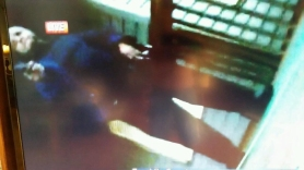 A freeze-frame captured from video taken by Adam West of the shooting suspect that took his life and that of reporter Alison Parker. The journalists were killed during an on-air broadcast early Wednesday in Moneta, Va. (Courtesy of Va. State Police)