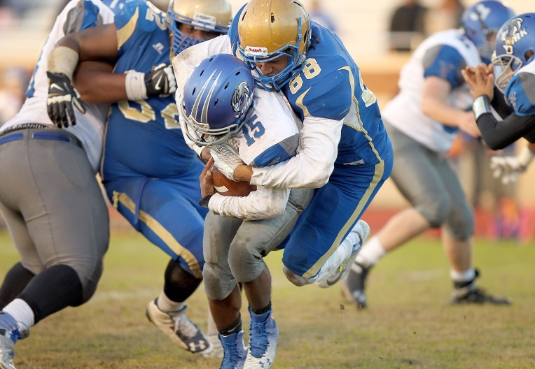 3A East Region Playoffs: Phoebus 33, York 6