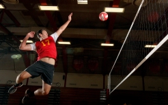 The Daily Press boys volleyball all-star is Gloucester's Troy Maples.