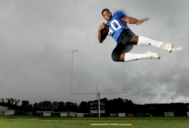 York High's Darius Reynolds is the Daily Press All-star defensive player for the 2015 football season.