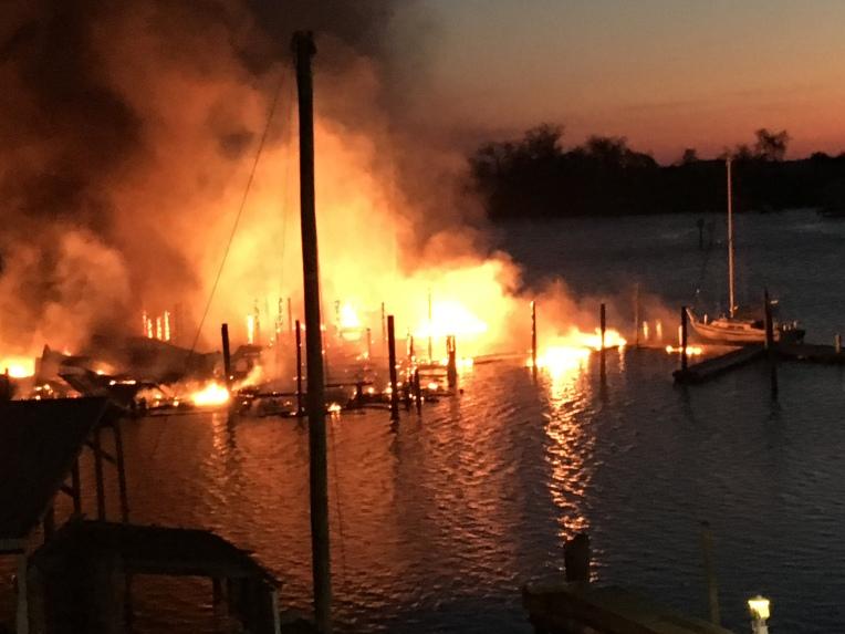 AP Marina Fire