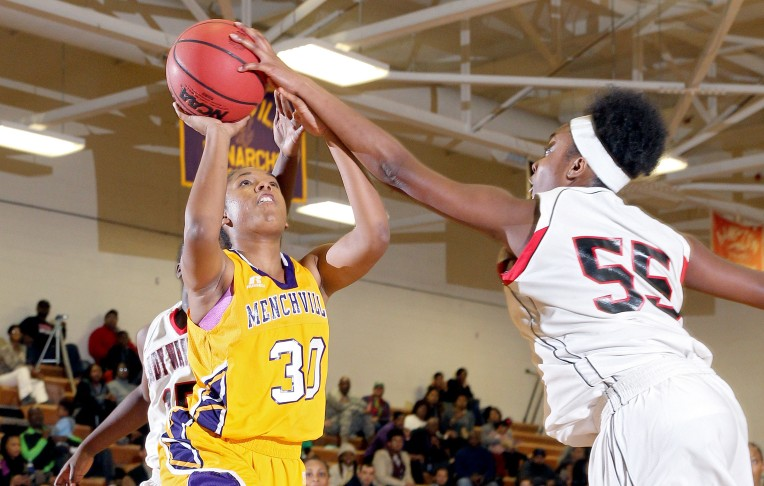 Conference 10 Semi-final: Nansemond River 71, Menchville 67