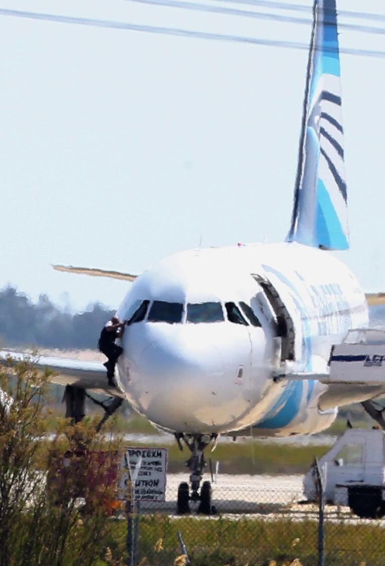 AP Cyprus Hijacked Plane