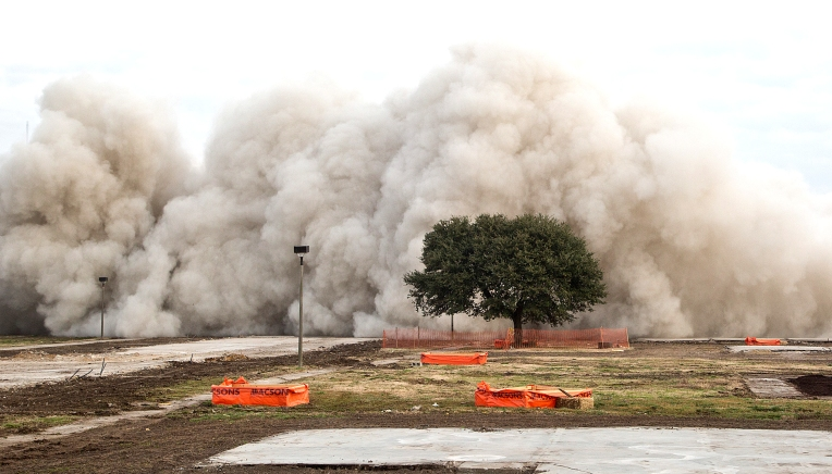 1970's Lincoln Park Apartment Tower was Imploded