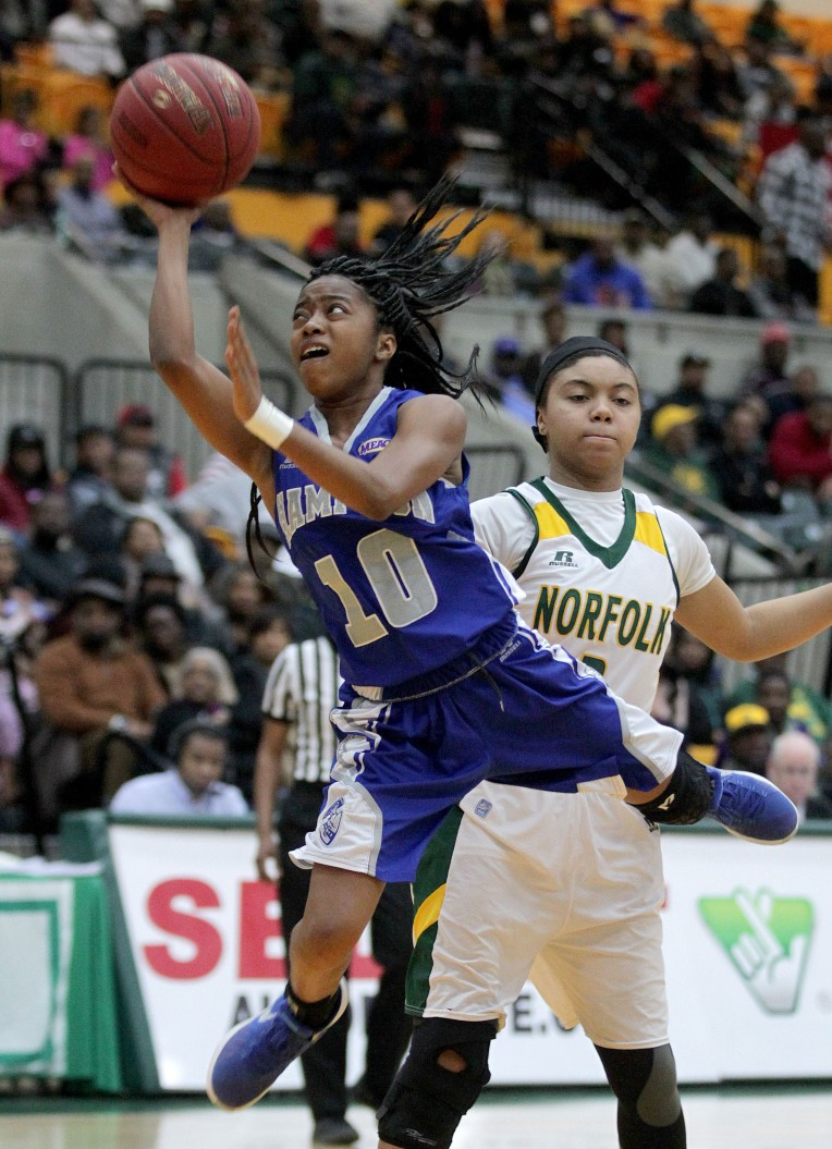 Norfolk State 71, Hampton University 66