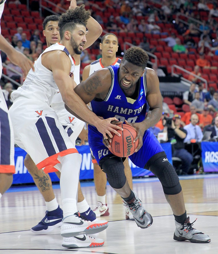 NCAA Tournament: Univeristy of Virginia 81, Hampton University 48