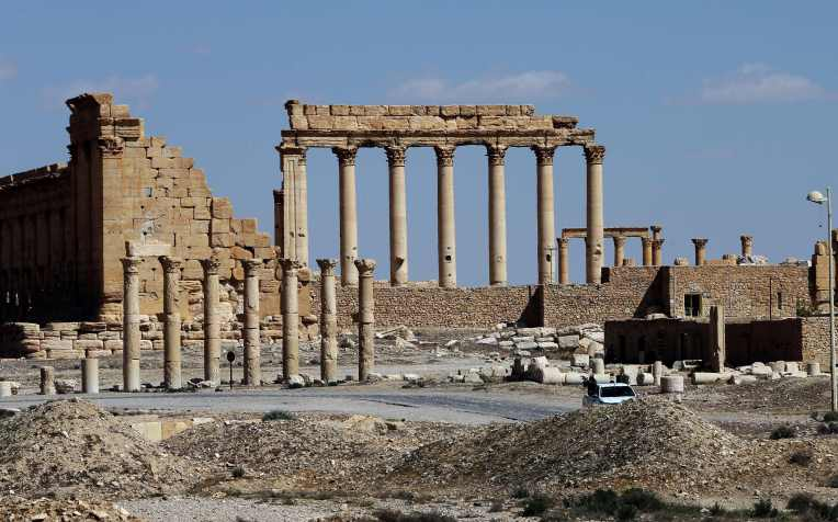 SYRIA-CULTURE-ARCHAEOLOGY-CONFLICT-PALMYRA