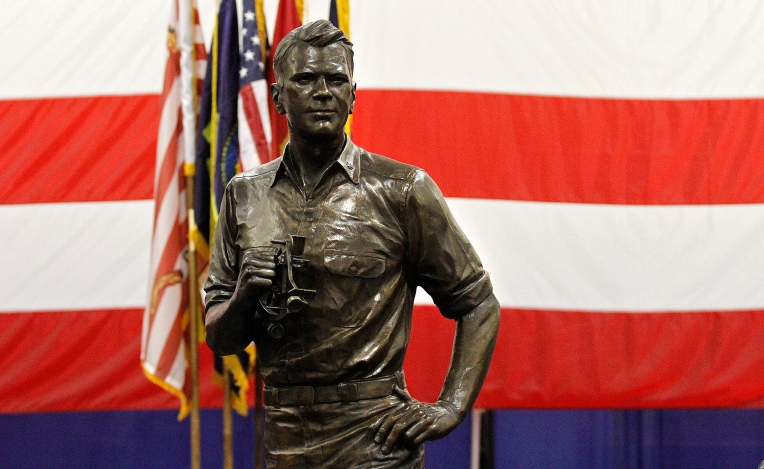 USS Ford: Statue of Gerald Ford Presentation