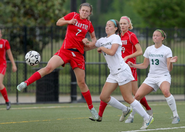 Conference 18 Soccer Tournament: Jamestown 5, Grafton 0