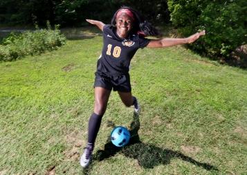 Daily Press 2016 Spring All Star Tabb High School's Leah Tyson on Tuesday, June 21, 2016.