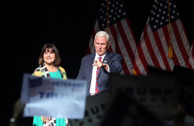 Norfolk Mike Pence Rally