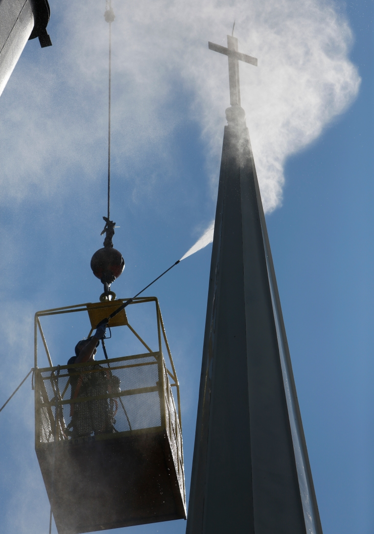 Yorkminister Presbyterian Steeple Cleaning