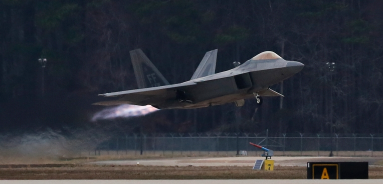 F 22 Raptor Demo