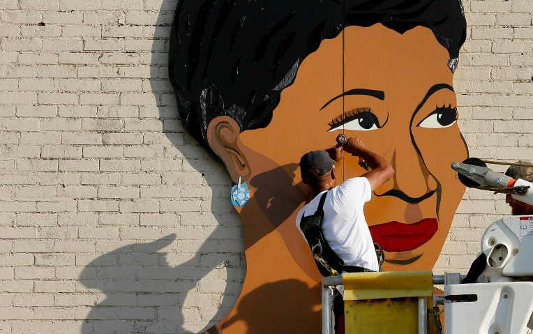Ellla Fitzgerald Mural
