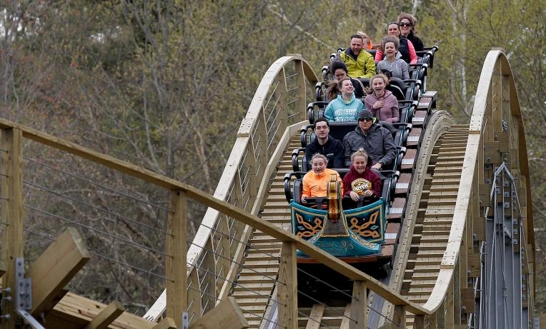 Roller Coaster InvadR Opens