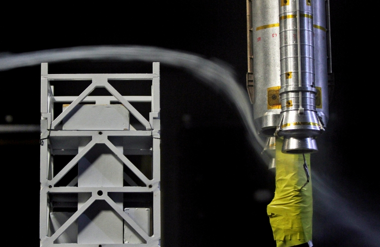 SLS Rocket Test