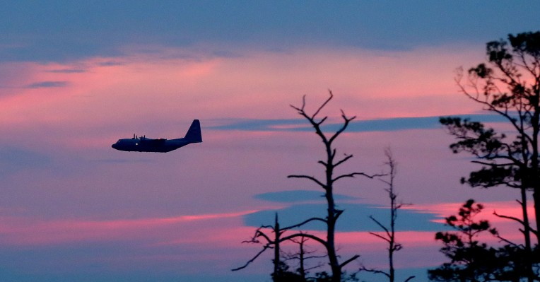 C-130 Mosquito Spraying