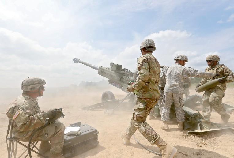 National Guard Artillary