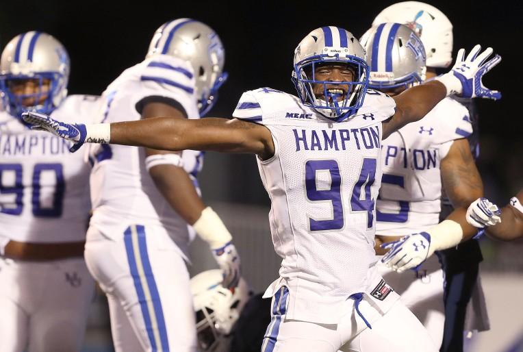 Hampton University 28, Delaware State 15