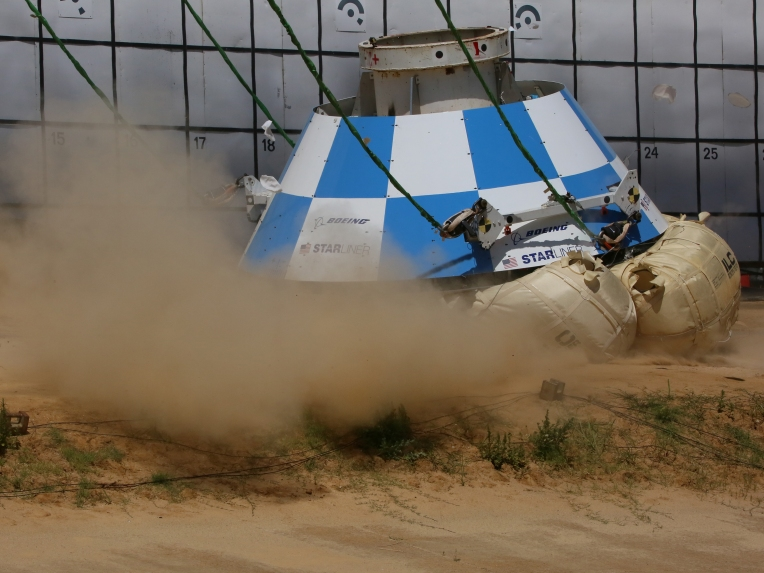 NASA Starliner Tests