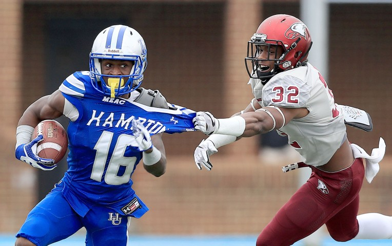 North Carolina Central 14, Hampton University 6