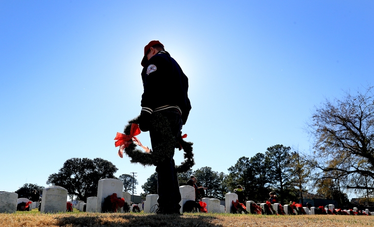 Wreaths Across America: Hampton National Cemetery