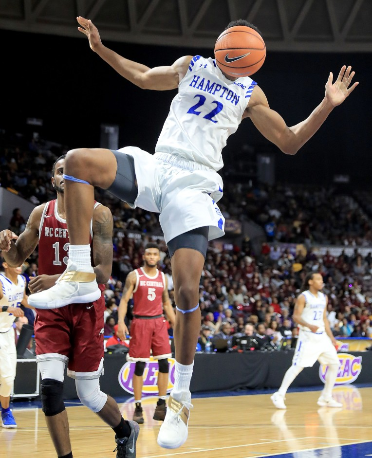 MEAC Tournamnet Championship: North Carolina Central 71, Hampton University 63