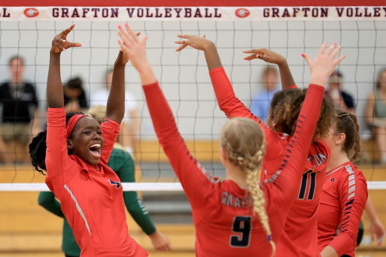 Grafton VS Jamestown Girls Volleyball
